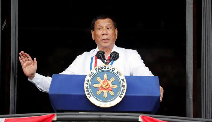 Presiden Filipina Ancam Sudahi Perjanjian Militer dengan AS - Warta Ekonomi