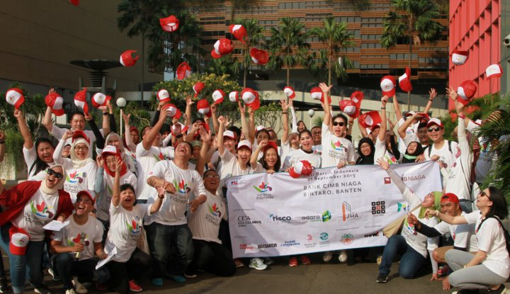 CIMB Niaga Dukung Hari Bersih Indonesia - Warta Ekonomi