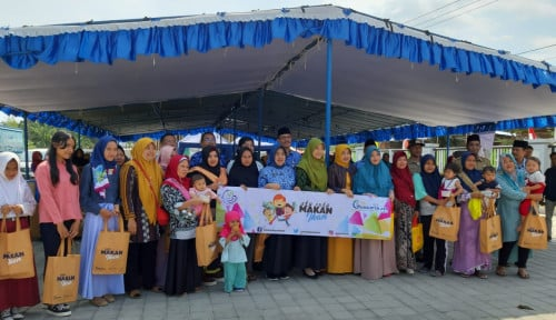 Foto Kampanye Gemarikan, Lombok Barat Ditarget Bebas Stunting 2024