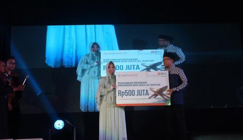 Foto BNI Syariah Dukung Program Indonesia Bisa Baca Quran