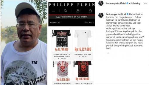 Hotman Paris Pamer Kaus Belasan Juta Hanya untuk Lap Keringat, Warganet Geger!