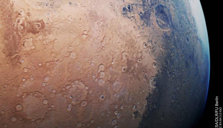 Mars Bukan Cuma Berwarna Merah! Simak Buktinya! - Warta Ekonomi
