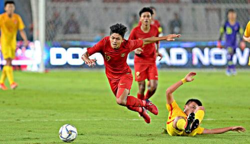 Foto Imbang Lawan China, Timnas U-16 Jadi Runner Up