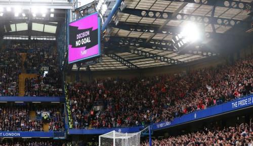 Foto Gol Chelsea Dianulir VAR, Frank Lampard Bilang. . .