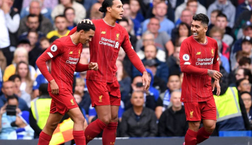 Foto Chelsea Takluk di Stamford Bridge 1-2 dari Liverpool