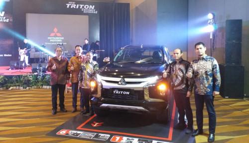 Foto Lebih Tangguh, Mitsubishi Siap Pasarkan New Triton di Medan