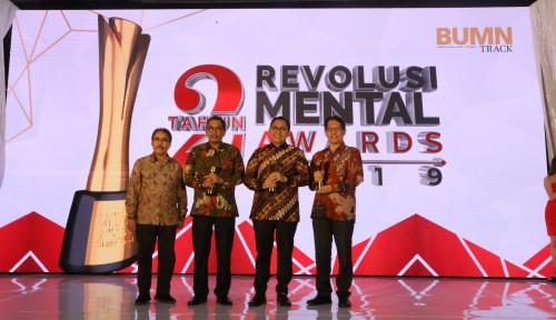 Foto Patra Jasa  Raih  2 Penghargaan di Ajang 2nd Revolusi Mental Award BUMN 2019