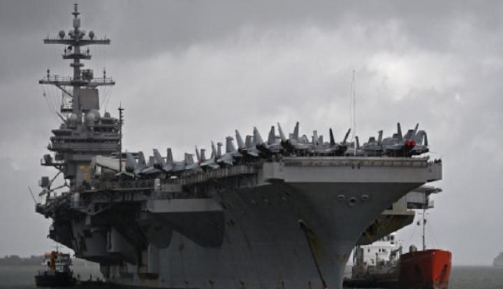 militer china makin menggila, as ciut sampai tarik kapal induk