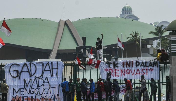 Masyarakat Yakin Demo Mahasiswa Bukan Untuk Gagalkan Pelantikan - Warta Ekonomi