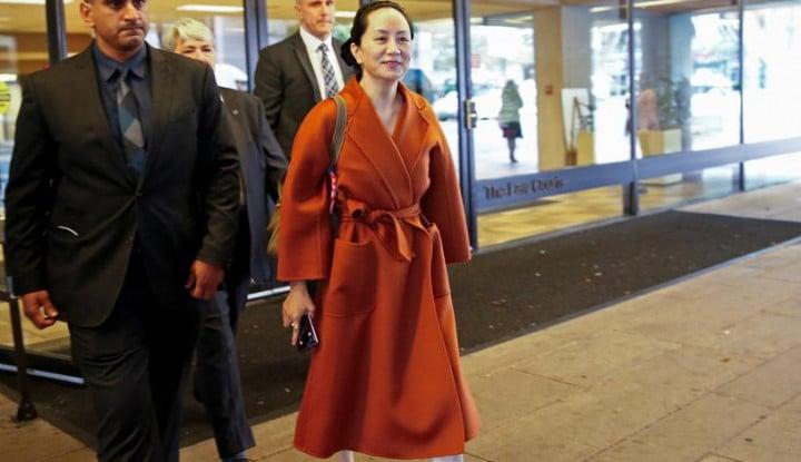 Syarat Ekstradisi Rampung, Pewaris Huawei Akan Dikirim ke AS?