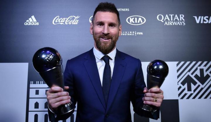 Kabar Kecurangan Berembus pada Kemenangan Messi sebagai Pemain Terbaik FIFA - Warta Ekonomi