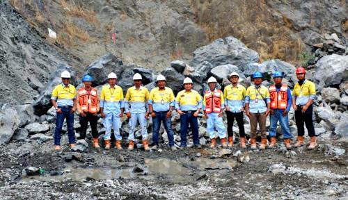 Foto Dahana Lakukan First Blasting Proyek Kereta Cepat Jakarta-Bandung