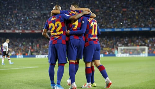 Foto Barcelona Masih Dihantui Mimpi Buruk Kekalahan atas Liverpool