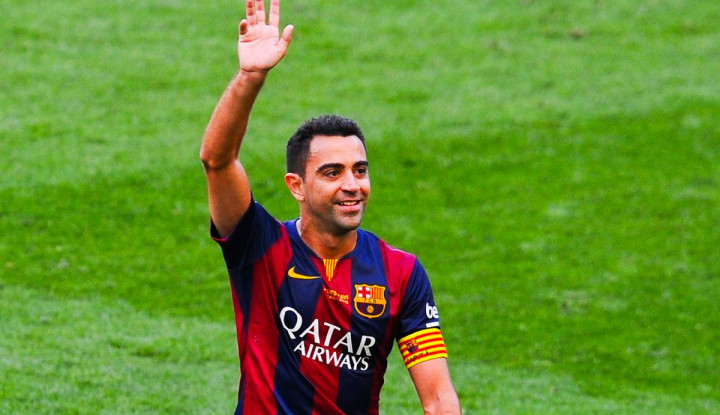 'Belum Waktunya', Xavi Tolak jadi Pelatih Barcelona - Warta Ekonomi