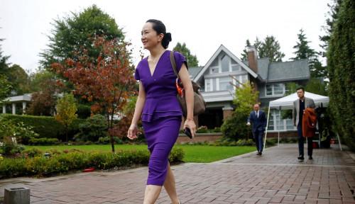 Foto Diringkus Secara Tak Patut oleh Kanada, Penerus Tahta Huawei Terus Berjuang di Meja Hijau!