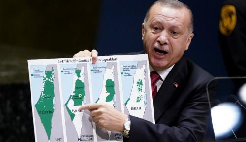 Tegas, Erdogan Nyatakan Tak Ada yang Bisa Rebut Tanah Palestina karena...