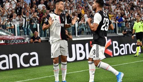 Foto Juventus Terapkan Formasi Baru, Ronaldo Diposisikan Sebagai. . .