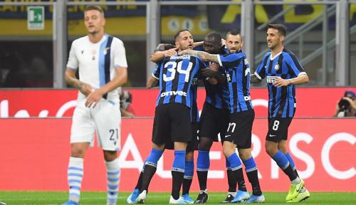 Foto Hadapi Juventus, Pemain Inter Tak Masalah Laga Digelar Tertutup