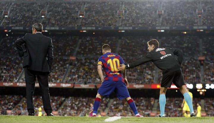 Messi Alami Cedera Parah, Absen Lama Bela Barcelona? - Warta Ekonomi