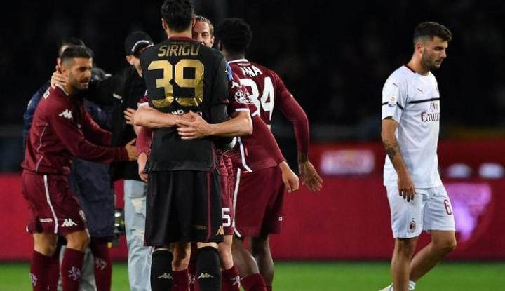 AC Milan Tersungkur di Kandang Torino - Warta Ekonomi