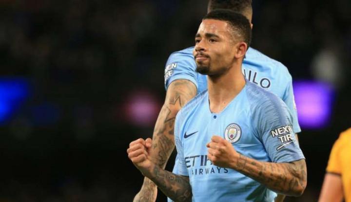 Selalu jadi Pilihan Kedua di Manchester City, Gabriel Jesus Beri Komentar - Warta Ekonomi