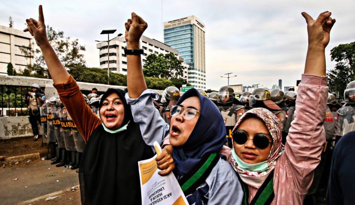Aksi Berlangsung, Tagar #JkwGakMampuUrusNegara Curi Panggung Trending Topic - Warta Ekonomi