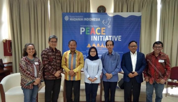 Peace Initiative, Pelatihan Toleransi bagi Para Guru Agama - Warta Ekonomi