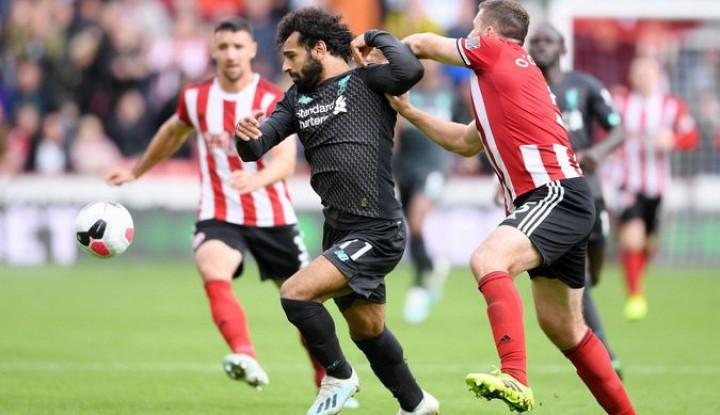 Liverpool Menang Tipis 1-0 atas Sheffield United