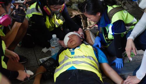 Foto Veby Indah, Jurnalis Indonesia yang Ditembak dalam Demo Hong Kong Ceritakan Hal Ini