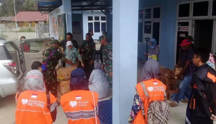 Aksi Solidaritas, Rumah Zakat Turunkan 20 Relawan ke Wamena - Warta Ekonomi