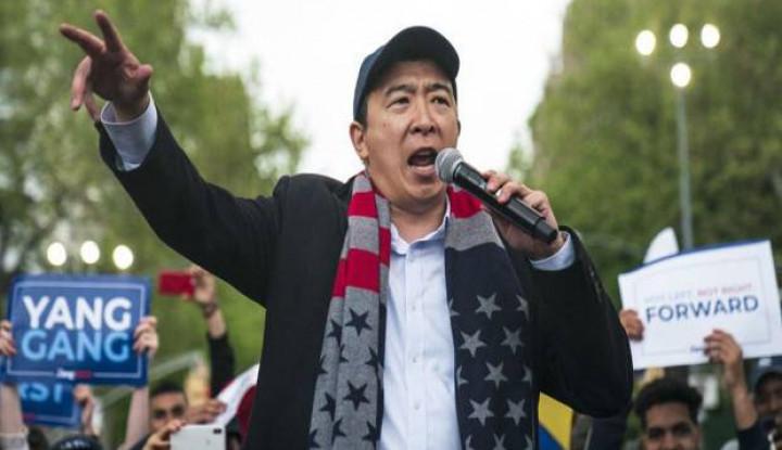 Andrew Yang, Capres AS Berwajah Etnis Asia yang Janjikan UMR Rp14 Juta Per Bulan di AS - Warta Ekonomi