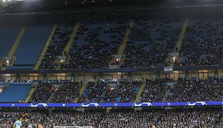 Pertandingan Man City Minim Penonton di Liga Champions, Pep Guardiola Beri Komentar - Warta Ekonomi