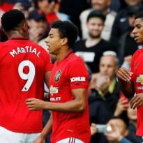Gasak Bournemouth 5-2, Man United Terus Bayangi Chelsea