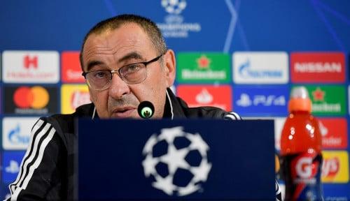 Foto Juventus Dituntut Juarai Liga Champions, Sarri Tak Khawatir karena Hal Ini