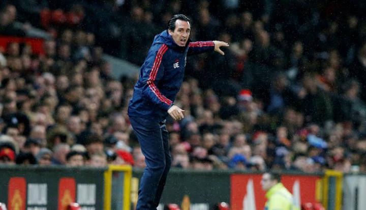 Komentar Unai Emery Usai Bermain Imbang 1-1 Lawan Manchester United - Warta Ekonomi