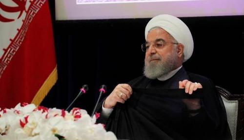 Foto Jaga-jaga 7 Kali 24 Jam, Rouhani Bilang Itu Baik buat Cegah Konfrontasi