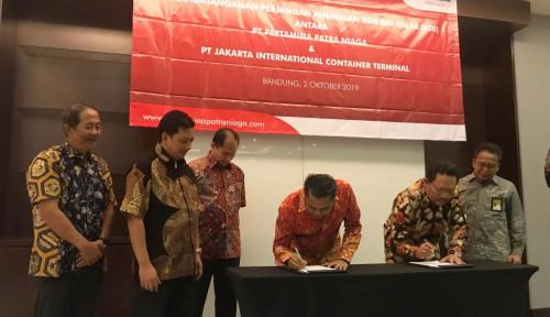 Foto Pertamina Patra Niaga Salurkan Solar HSD ke JICT