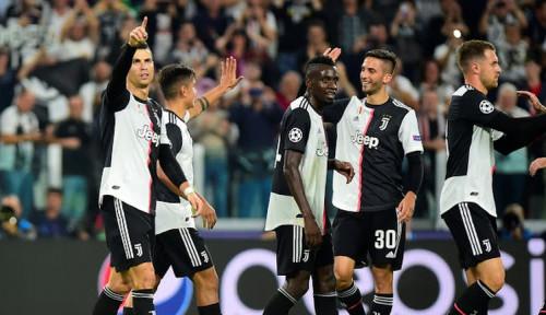 Foto Juventus Raih Kemenangan, Bonucci: Tak Mudah Kalahkan Roma