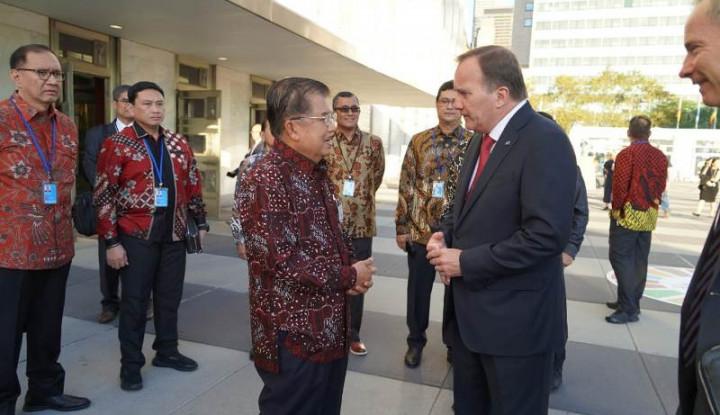 Diplomasi Batik Ala JK di Sidang Majelis Umum PBB ke-74 - Warta Ekonomi