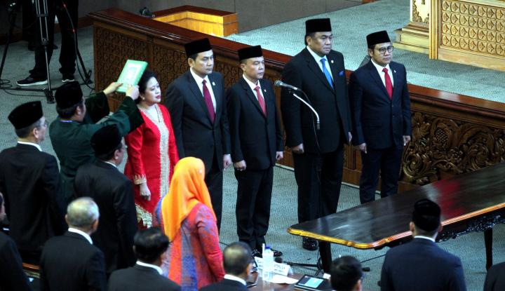 Tiga Fraksi di DPR Belum Serahkan Nama-Nama AKD - Warta Ekonomi
