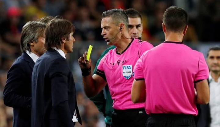Inter Milan Kalah 1-2 dari Barcelona, Antonio Conte Kecam Keputusan Wasit - Warta Ekonomi
