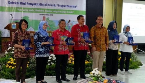 Foto Gelar Edukasi Kesehatan Ginjal, Project Sunrise Gandeng Dinkes DKI Jakarta