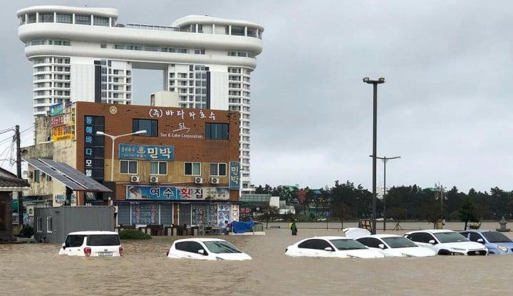 Topan Mitag Lintasi Korea Selatan, Enam Warga Tewas - Warta Ekonomi