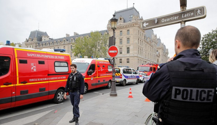 Amukan Petugas di Markas Besar Polisi Prancis Sebabkan 4 Perwira Tewas - Warta Ekonomi