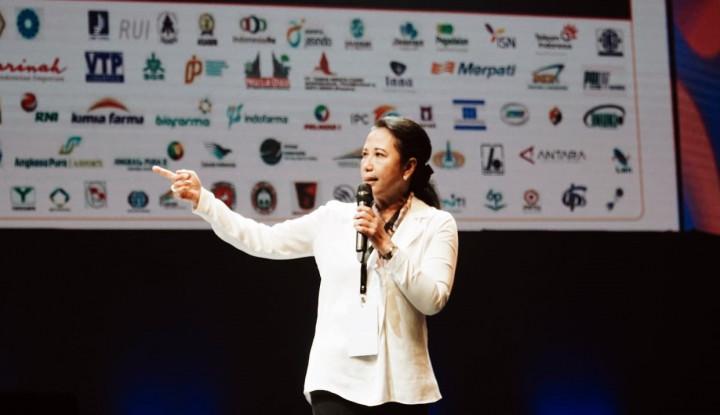 Di IdeaFest, Rini Ceritakan dan Banggakan Sinergi BUMN - Warta Ekonomi