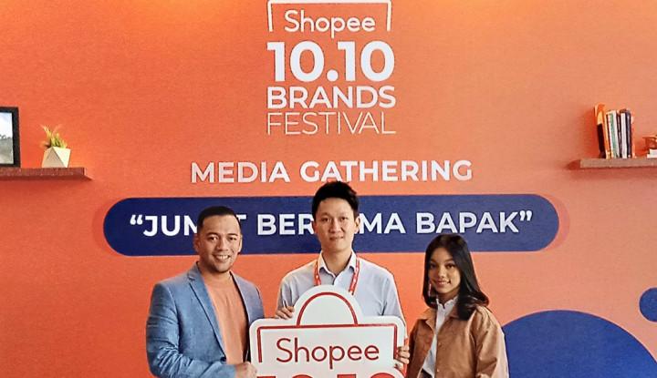 Lihat Beragam Promo dari Shopee Jelang 10.10 Brands Festival - Warta Ekonomi