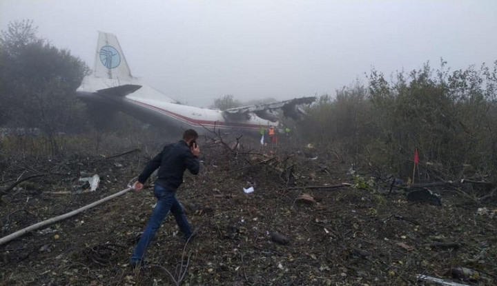 Bahan Bakar Habis, Pesawat Transport Ukraina Mendarat Darurat - Warta Ekonomi