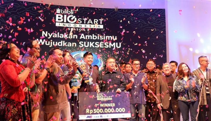 Pemenang Blibli.com Big Start Indonesia Season 4 Bawa Hadiah Total Rp1,3 M - Warta Ekonomi