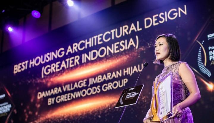 Damara Village Jimbaran Hijau Dapat Predikat 'Best Housing Architectural Design' - Warta Ekonomi