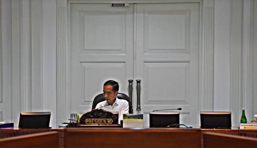 Foto Soal Menteri, Benar Jokowi Selalu Ngecek Parpol Berkeringat di Pilpres?